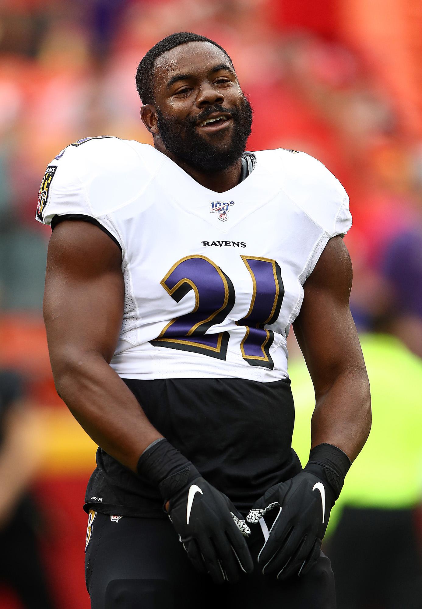 Ravens RB Mark Ingram II is one of the friendliest guys in ...